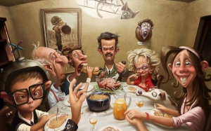 caircatures-faces-funny-family-image